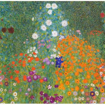 Puzzle Grafika-00023 Gustav Klimt : Jardin fleuri, 1905-1907