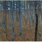 Puzzle  Grafika-00025 Gustav Klimt : Haut bois - 1902
