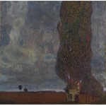 Puzzle  Grafika-00026 Gustav Klimt : Le Grand Peuplier II - 1902