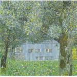 Puzzle  Grafika-00030 Gustav Klimt : Ferme en Autriche, 1911-12