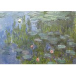 Puzzle  Grafika-00033 Claude Monet : Nymphéas, 1915