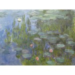 Puzzle  Grafika-00034 Claude Monet : Nymphéas, 1915