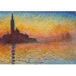 Puzzle  Grafika-00035 Claude Monet : Saint-Georges-Majeur au Crépuscule, 1908