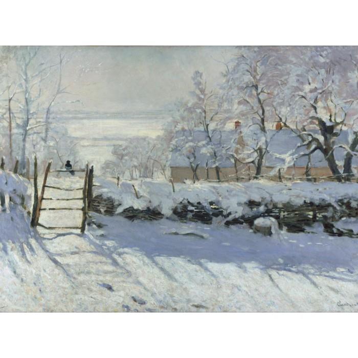 Claude Monet : La Pie, 1868-1869