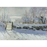 Puzzle  Grafika-00039 Claude Monet : La Pie, 1868-1869