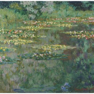Puzzle Grafika-00040 Claude Monet : Le Bassin aux Nymphéas