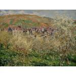 Puzzle  Grafika-00041 Claude Monet : Pruniers en Fleur, 1879