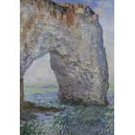 Puzzle  Grafika-00042 Claude Monet : Le Manneporte à Étretat, 1886