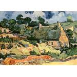 Puzzle  Grafika-00050 Vincent Van Gogh : Les chaumes de Cordeville, 1890
