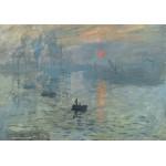 Puzzle  Grafika-00051 Claude Monet : Impression au Soleil Levant, 1872