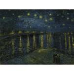 Puzzle  Grafika-00052 Vincent Van Gogh : La Nuit Etoilée, 1888