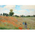 Puzzle  Grafika-00057 Claude Monet : Coquelicot, 1873