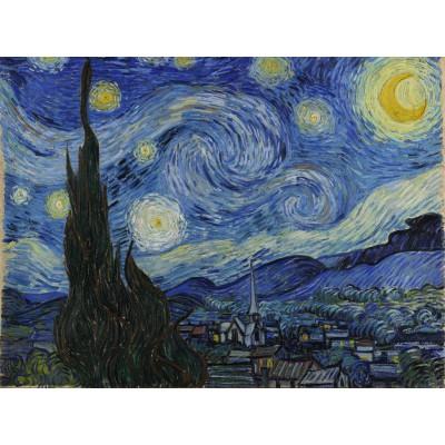 Puzzle Grafika-00060 Vincent Van Gogh : La Nuit étoilée, 1889