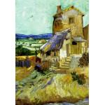 Puzzle  Grafika-00063 Vincent Van Gogh : Le Vieux Moulin, 1888