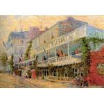 Puzzle  Grafika-00073 Vincent Van Gogh : Restaurant de la Sirène à Asnières, 1887
