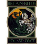 Puzzle  Grafika-00076 Affiche de Recrutement de l'Armée Britanique, 1915
