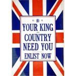 Puzzle  Grafika-00088 Affiche de Recrutement de l'Armée Britanique, 1914