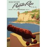 Puzzle  Grafika-00093 Affiche de Promotion pour le Tourisme à Porto Rico, 1936-1940