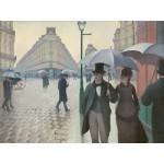 Puzzle  Grafika-00095 Gustave Caillebotte : Rue de Paris, Jour de Pluie, 1877