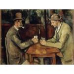 Puzzle  Grafika-00098 Paul Cézanne : Les Joueurs de Cartes, 1894-1895