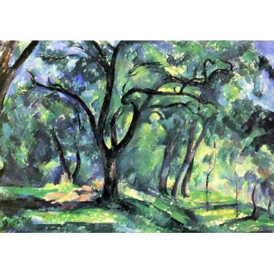 Puzzle Grafika-00101 Paul Cézanne : Forêt, 1890