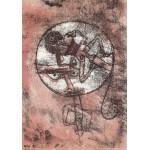 Puzzle  Grafika-00106 Paul Klee : Der Verliebte, 1923