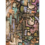 Puzzle  Grafika-00107 Paul Klee : Après l'inondation, 1936