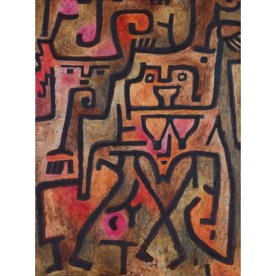 Puzzle Grafika-00111 Paul Klee : Sorcières de la forêt, 1938