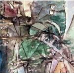 Puzzle  Grafika-00114 Paul Klee : Klee Leitungsstangen anagoria, 1913