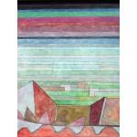 Puzzle  Grafika-00116 Paul Klee : Blick in das Fruchtland, 1932