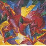 Puzzle  Grafika-00129 Umberto Boccioni : Forme plastiche di un Cavallo, 1914