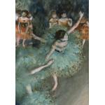 Puzzle  Grafika-00135 Edgar Degas : Danseuse basculant (Danseuse verte), 1877-1879