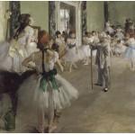 Puzzle  Grafika-00136 Edgar Degas : La classe de danse, 1871-1874