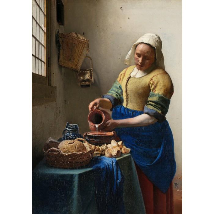 Vermeer Johannes : La Laitière, 1658
