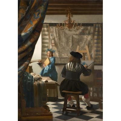 Puzzle Grafika-00145 Vermeer Johannes : L'Art de la Peinture, 1666-1668