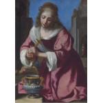 Puzzle  Grafika-00146 Vermeer Johannes : Sainte Praxède, 1655