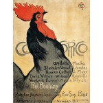Puzzle  Grafika-00156 Théophile-Alexandre Steinlen : Cocorico, 1899