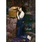 Puzzle  Grafika-00159 Waterhouse John William : Pandora, 1896