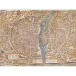 Puzzle  Grafika-00163 Olivier Truschet et Germain Hoyau : Plan de Paris du milieu du XVIe Siècle