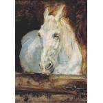 Puzzle  Grafika-00170 Henri de Toulouse-Lautrec : Cheval Blanc Gazelle, 1881