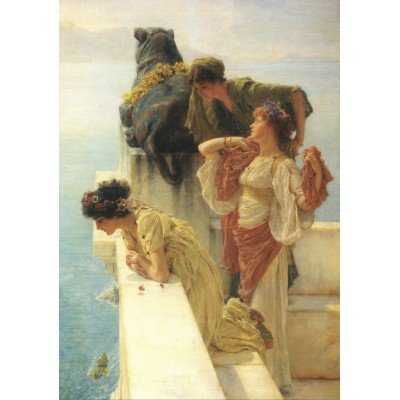 Puzzle Grafika-00172 Sir Lawrence Alma-Tadema : A Coign of Vantage, 1895