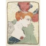Puzzle  Grafika-00173 Henri de Toulouse-Lautrec : Mademoiselle Marcelle Lender, 1895