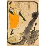 Puzzle  Grafika-00175 Henri de Toulouse-Lautrec : Jane Avril, 1893