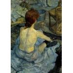 Puzzle  Grafika-00177 Henri de Toulouse-Lautrec : Femme à sa Toilette, 1889