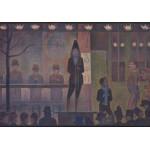 Puzzle  Grafika-00193 Georges Seurat : La Parade de Cirque, 1888