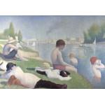 Puzzle  Grafika-00194 Georges Seurat : Une baignade à Asnières, 1884