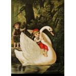 Puzzle  Grafika-00205 Carl Offterdinger : Hansel et Gretel, fin XIXe Siècle
