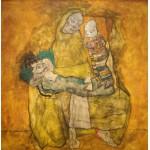 Puzzle  Grafika-00218 Egon Schiele : Mère avec Deux Enfants II, 1915