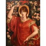 Puzzle  Grafika-00222 Dante Gabriel Rossetti : A Vision of Fiammetta, 1878