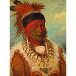 Puzzle  Grafika-00234 George Catlin : The White Cloud, Head Chief of the Iowas, 1844-1845
